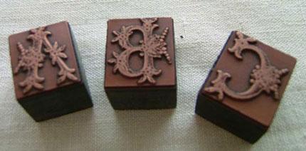 アンティークコレクション。デッドストックのイギリス製スタンプ。輸入雑貨特集。